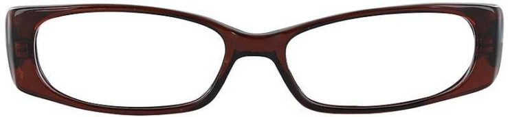 Prescription Glasses Model U33-BROWN-FRONT