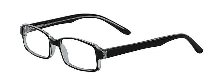 Prescription Glasses Model U34-BLACK-45