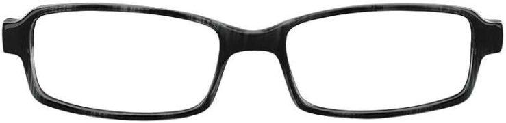 Prescription Glasses Model U34-GREY-MARBEL-FRONT