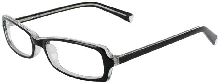 Prescription Glasses Model U35-BLACK-45