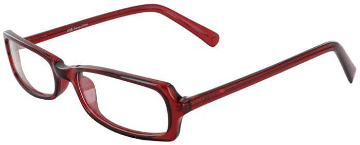 Prescription Glasses Model U35-BURGUNDY-45