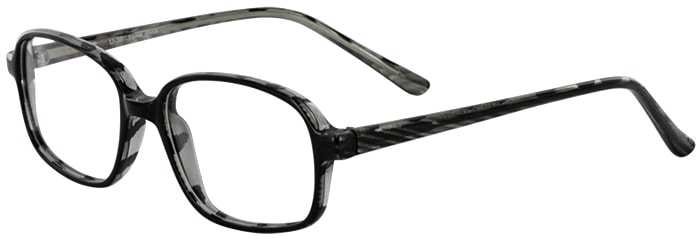 Prescription Glasses Model U36-BLACK-45