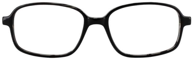 Prescription Glasses Model U36-BLACK-FRONT