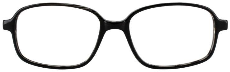 Prescription Glasses Model U36-BLACK-FRONT