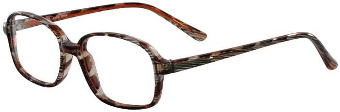 Prescription Glasses Model U36-BROWN-45