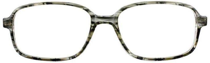 Prescription Glasses Model U36-GREY-FRONT