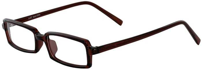Prescription Glasses Model U37-BROWN-45