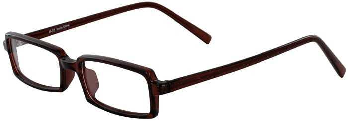 Prescription Glasses Model U37-BROWN-45