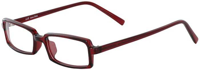 Prescription Glasses Model U37-BURGUNDY-45