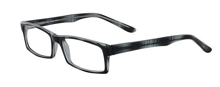 Prescription Glasses Model U38-GREY-MARBEL-45