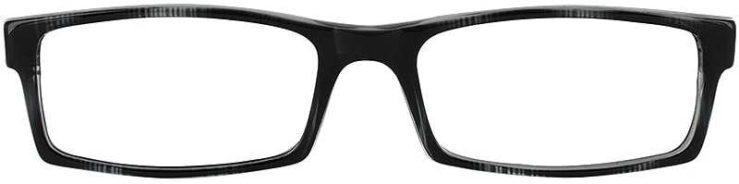 Prescription Glasses Model U38-GREY-MARBEL-FRONT