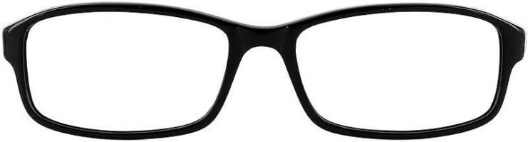 Prescription Glasses Model U41-BLACK-FRONT