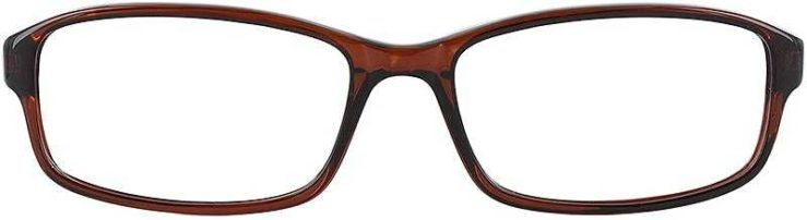 Prescription Glasses Model U41-BROWN-FRONT