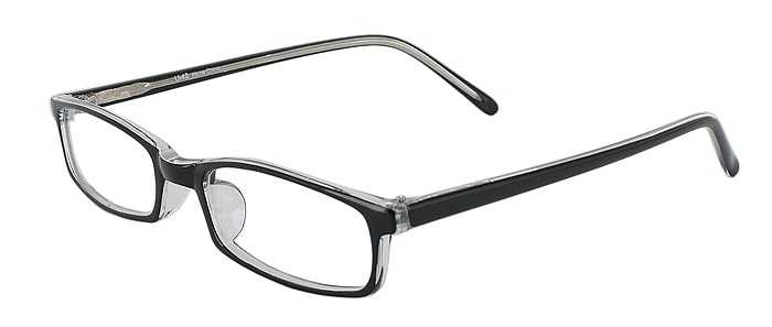 Prescription Glasses Model U42-BLACK-45