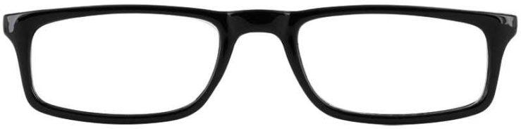 Prescription Glasses Model U46-BLACK-FRONT