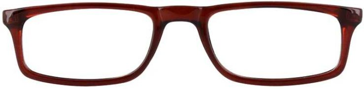 Prescription Glasses Model U46-BROWN-FRONT
