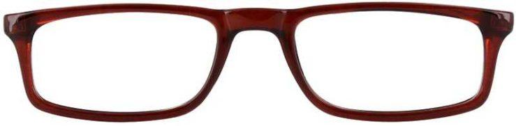 Prescription Glasses Model U46-BROWN-FRONT