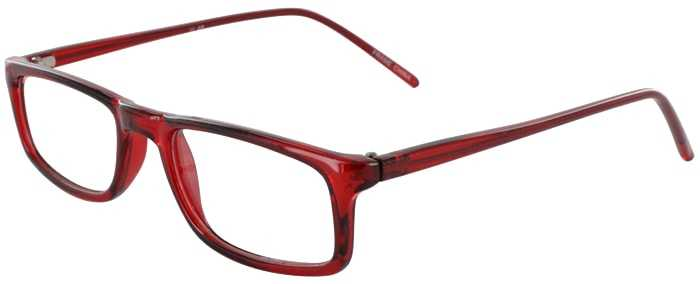Prescription Glasses Model U46-BURGUNDY-45