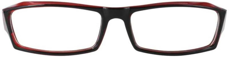 Prescription Glasses Model U47-BLACKWINE-FRONT