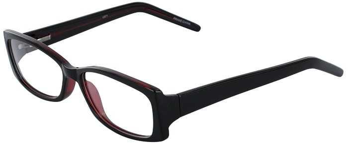 Prescription Glasses Model U71-BLACK WINE-45