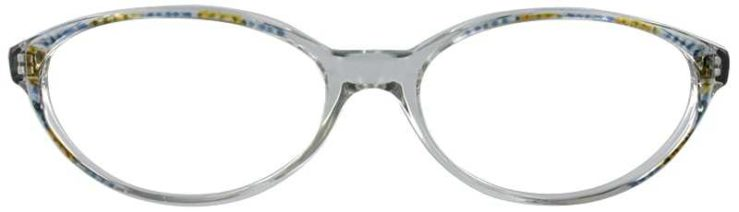 Prescription Glasses Model UL90-BLUE-FRONT