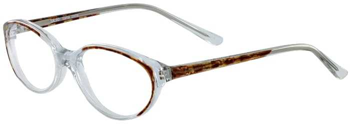 Prescription Glasses Model UL90-BROWN-45