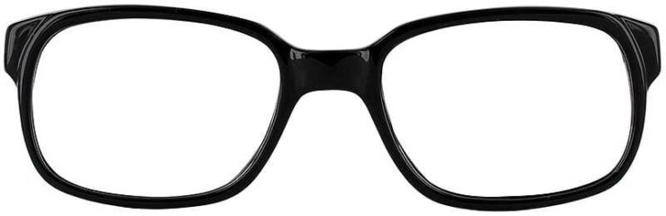 Prescription Glasses Model UM70-BLACK-FRONT