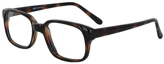 Prescription Glasses Model UM70-BROWN-45