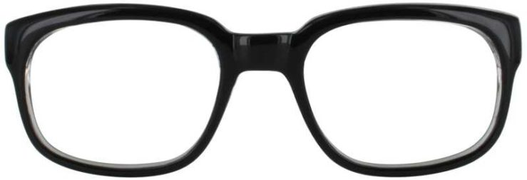 Prescription Glasses Model UM74-BLACK-FRONT