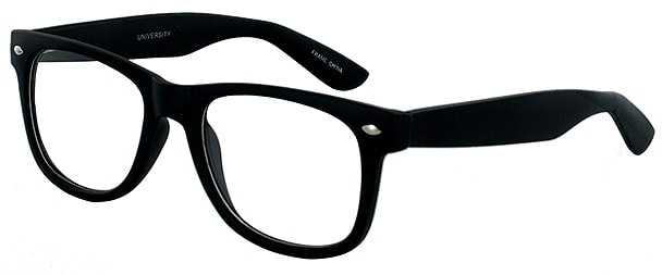 Prescription Glasses Model UNIVERSITY-BLACK-45
