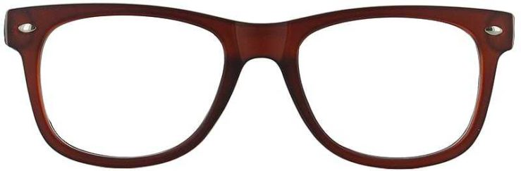 Prescription Glasses Model UNIVERSITY-BROWN-FRONT