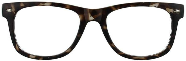 Prescription Glasses Model UNIVERSITY-TORTOISE-FRONT