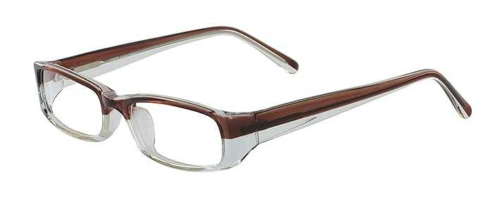 Prescription Glasses Model US53-BROWN-CRYSTAL-45