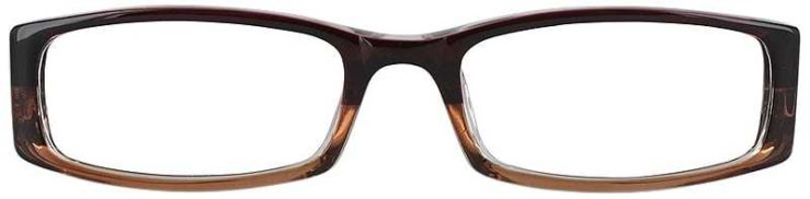 Prescription Glasses Model US53-WINE-FRONT