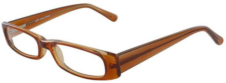 Prescription Glasses Model US57-BROWN-45