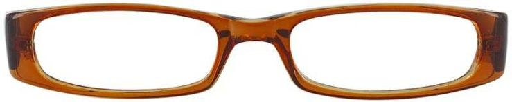 Prescription Glasses Model US57-BROWN-FRONT