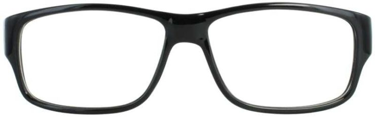 Prescription Glasses Model US59-BLACK-FRONT
