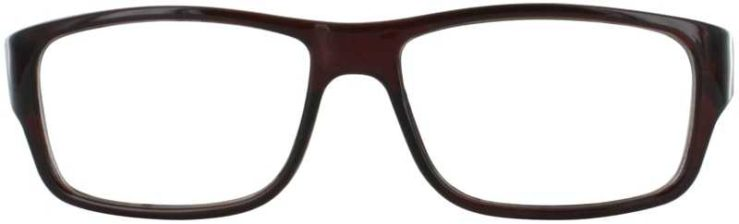 Prescription Glasses Model US59-BROWN-FRONT