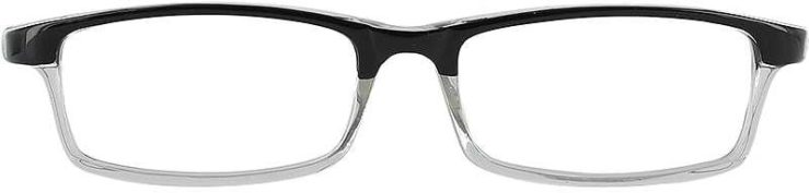 Prescription Glasses Model US60-BLACK-FRONT