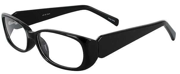 Prescription Glasses Model US62-BLACK-45
