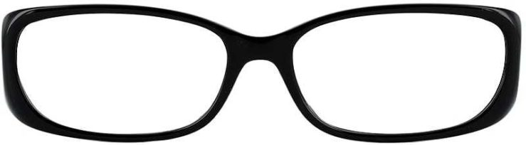 Prescription Glasses Model US62-BLACK-FRONT