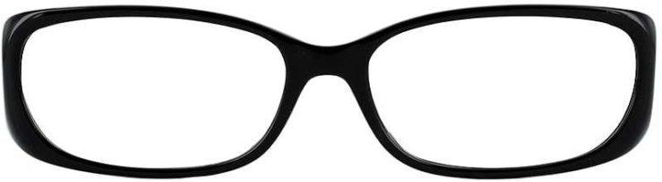 Prescription Glasses Model US62-BLACK-FRONT