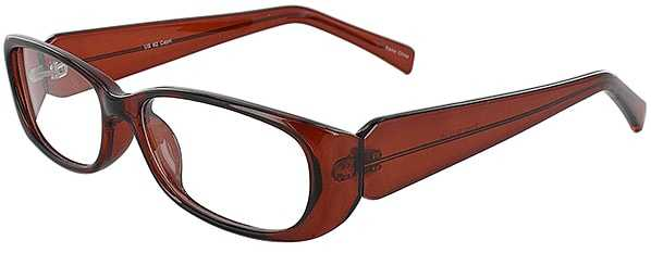 Prescription Glasses Model US62-BROWN-45
