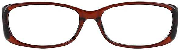 Prescription Glasses Model US62-BROWN-FRONT