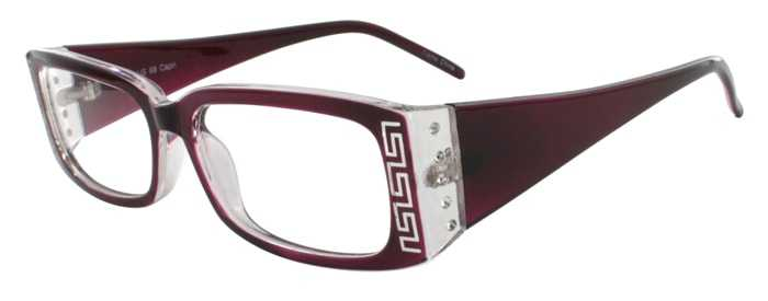Prescription Glasses Model US68-PURPLE-45