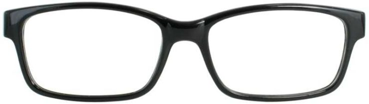Prescription Glasses Model US69-BLACK-FRONT