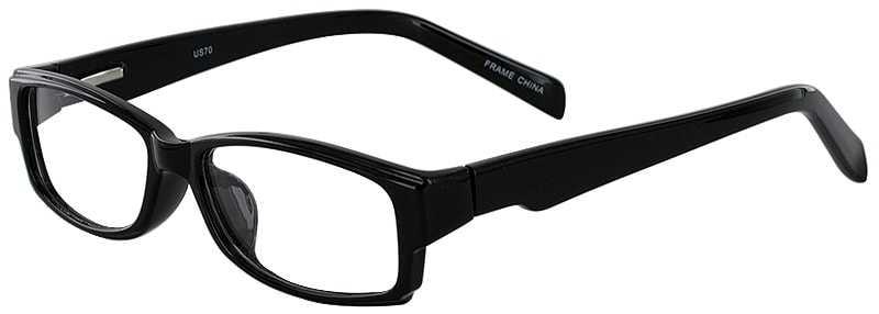 8a04239e2cf8f Prescription Glasses Model US70-BLACK-45 ...