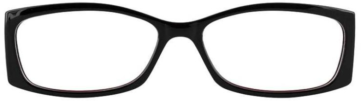 Prescription Glasses Model US71-BLACK WINE-FRONT