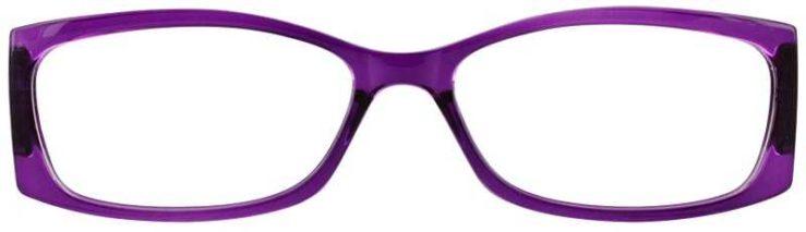Prescription Glasses Model US71-PURPLE-FRONT