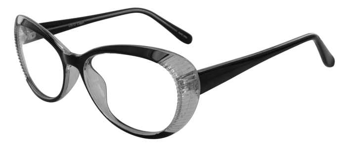 Prescription Glasses Model US72-BLACK-45